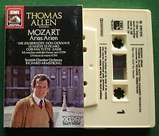 Thomas Allen Mozart Arias Scottish Chamber Orch Armstrong Cassette Tape - TESTED