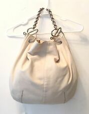 Authentic LOEWE Shoulder Bag Beige