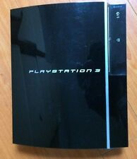 SONY PLAYSTATION 3 80GB GAME CONSOLE ONLY MODEL CECHK01-WITH 2 GAMES