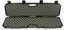 """Condition 1 #210 42"""" Black Hard Rifle Case with Convoluted Foam"""