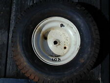 #108 Sears Craftsman Riding Lawn Mower Rear Tire Wheel - 18 x 9.50 - 8