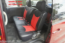 Full Bench Leather Look Seat Cover Holden Rodeo or Colorado Single Cab 2003-2012