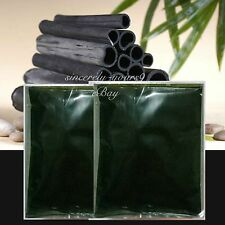 2x100g Activated Carbon Bamboo Charcoal Powder Food Organic Detox Toxin Spa