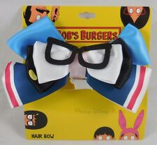 New Bob's Burgers Tina Belcher Glasses Costume Cosplay Hair Bow Clip