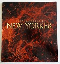NOS 1987 Chrysler New Yorker Car Automobile  Brochure MINT CONDITION