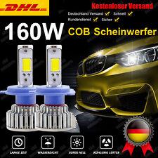 H7 COB 16000LM 160W 6000K Litch Weiß Led Scheinwerfer Birnen Satz Lampe Leuchten