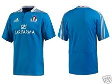 Men's Genuine ADIDAS ITALY RUGBY JERSEY 2012/14 MODEL W69065. Size M. nwt