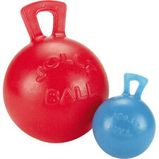 "Soft Rubber Dog Toy - Tug-N-Toss Ball Medium 6"" - Fetch Toys for ""Ruff"" Play"