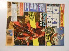 AUGUST 1986 DIRT RIDER MAGAZINE,CAGIVA WMX125,YAMAHA YZ125S,FANTIC 301,ENDURO ,