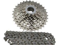 Fahrrad Verschleißset 9 fach Shimano CN-HG53 Kette+CS-HG400 Kassette 11-34 9fach