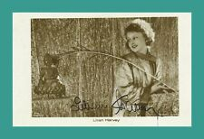 LILIAN HARVEY | Schauspielerin | Original-Autogramm Starpostkarte