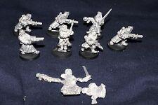 Warhammer40k Imperial Guard Warriors of Valhalla X10 inc.capt. chenkov (Metallo)
