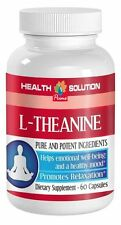 L-Theanine Chewable - L-THEANINE 200mg - Potent Focus Increasing Capsules - 1Bot