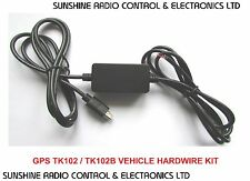 TK102B TK102 GPS Tracker Hard Wired Charger Kit Adapter Motor Bike Car Van New