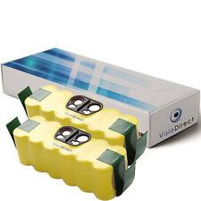 Lot de 2 batteries 14.4V 3500mAh pour iRobot Roomba 560 - Société Française -