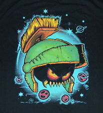 Looney Tunes Marvin the Martian Monster Head Airbrush Art Large T-Shirt,UNWORN