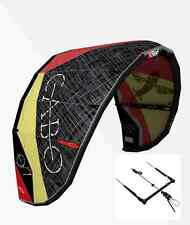 NEW 2015 Best Kiteboarding Cabo V3 8 Meter Kite + Control bar + Free Shipping