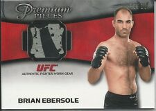 Brian Ebersole 2013 Topps UFC Knockout Premium Pieces Relic Card # PPRBE 30/88