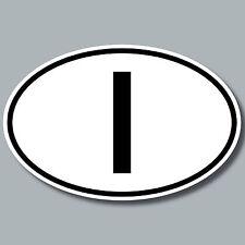 Auto Pkw Kfz Bus Länderkennzeichen Italien I Zeichen Symbol Aufkleber Sticker