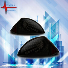 2000-2005 Mitsubishi Eclipse LED Tail Light Black Smoke Lens Rear Lamp PAIR