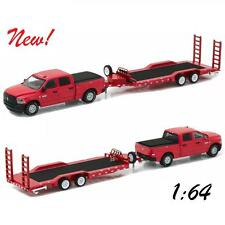 Greenlight 2016 Dodge Ram 2500 & Heavy Duty Car Hauler Diecast 1:64 32090 D
