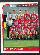 Panini Belgian Football 1999 Sticker - No 272 - Exc. Mouscron Team Group