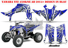 AMR RACING DEKOR GRAPHIC KIT ATV YAMAHA YFZ 450 04-14,YFZ 450R 09-16 DEADEN B