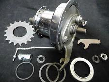 Vintage Sturmey Archer Rear drum brake hub, 36 Holes 3 speed Very rare. NOS 1972