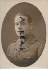 WW1 Officer Capt J B Johnstone Mentioned in Dispatches ASC Army Service Corps