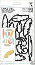 X cut feather dies 11 piece die set Feathers. Use Xcut, sizzix, big shot, etc,