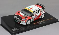 CITROEN DS3 WRC #5 3RD MONZA RALLY 2011 CAPELLO PIROLLO IXO RAM468 1/43 TOTAL