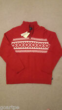 New American Eagle Outfitters Red Wool Sweater Medium Christmas