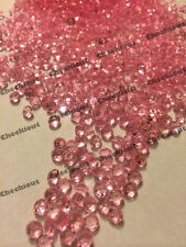 2000 Pink Acrylic Diamond Confetti 4.5mm for Wedding Decoration Table Scatters