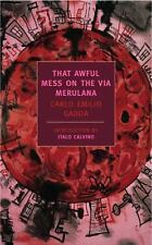 New York Review Books Classics: That Awful Mess on Via Merulana by Carlo...