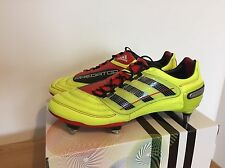 ORIGINALE Adidas Predator X TRX SG 44 2/3 UK 10 US 10,5 NEW NUOVO LEATHER Mania