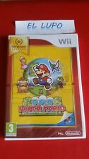 SUPER PAPER MARIO WII NINTENDO SELECTS NEUF SOUS BLISTER VERSION FRANCAISE