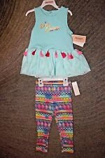 Juicy Couture Toddler Girls 2 Piece Set (Sleeveless) - Size 4T - NWT