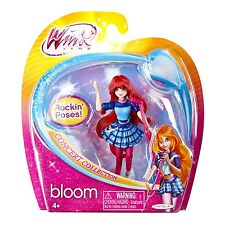 "Winx 3.75"" Action Dolls Fairy Concert -Bloom-NIP"