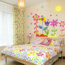 Removable Flowers Sunshine Wall Sticker Decal Wallpaper Kids Baby Room Decor - Q