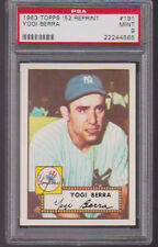 1983 Topps 1952 Reprint #191 YOGI BERRA (HOF) PSA 9 MINT New York YANKEES