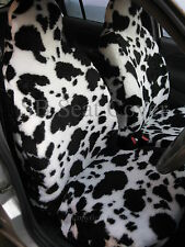 HYUNDAI TERRACAN/ TUCSON CAR SEAT COVERS COW FAUX FUR - FULL SET