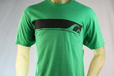 "QUIKSILVER ""HOT SAUCE"" GREEN MEN'S GRAPHIC T-SHIRT size Large"