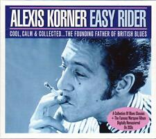 ALEXIS KORNER - EASY RIDER  (NEW SEALED 2CD) The founding father of British Blue