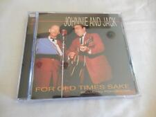 Johnnie & Jack For Old Times Sake CD LIKE NEW 2003 Bear Family Records