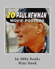 20 Paul Newman Movie Posters by Abby Books (2016, Paperback)