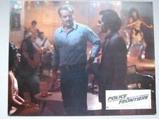 JACK NICHOLSON LOBBY CARD POLICE FRONTIERE