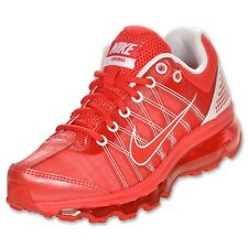 2013 NIKE AIR MAX 2009 YOUTH GS SZ 6Y Action Red White Action Red 400153-600