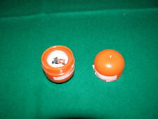 Ovale Disney Cars usato in plastica arancione con interno disegno Cricchetto e s
