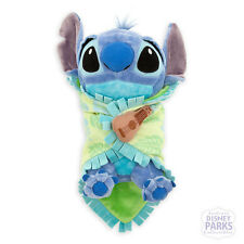 Authentic Disney Parks Disney Babies Stitch Plush Baby Doll Blanket