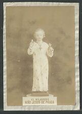 Foto antigua del Niño Jesus andachtsbild santino holy card santini